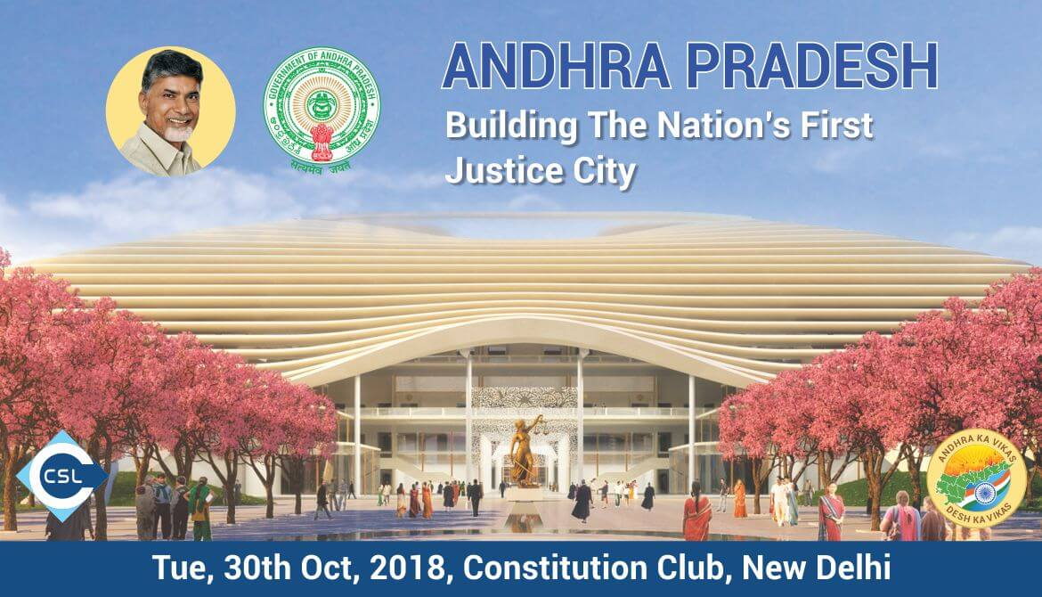Workshop on - Andhra Pradesh: Building the Nation's First Justice City