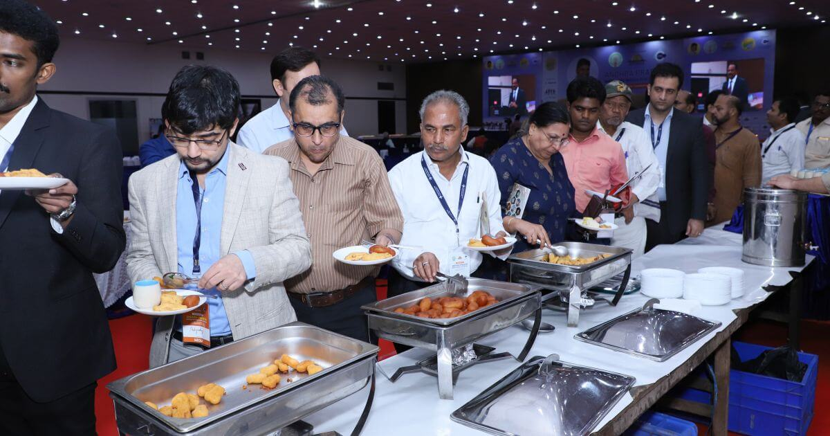 An interesting topic had whetted the appetite of the delegates