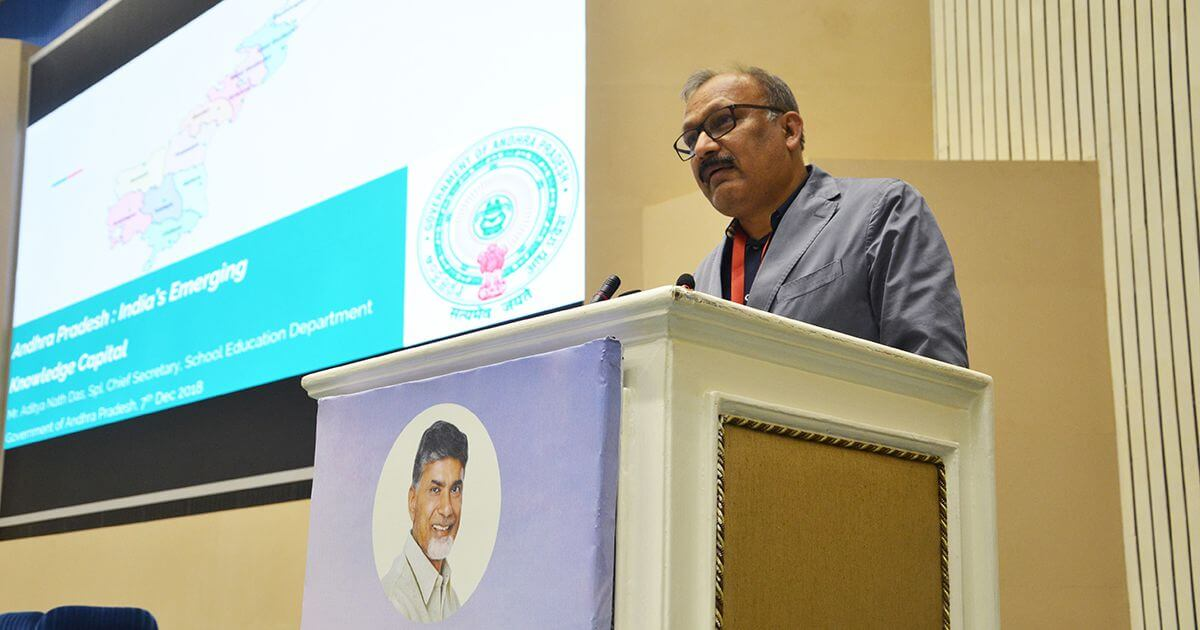 Mr. Aditya Nath Das, Chief Secretary, School Education, Govt. of Andhra Pradesh