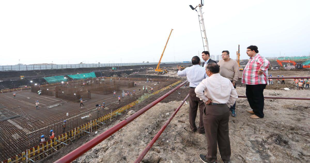 Construction site of Secretariat