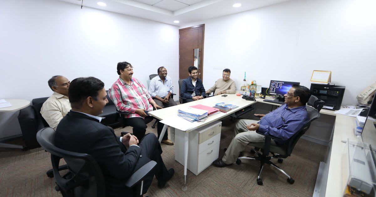 Meeting Pro Vice Chancellor Prof D. Narayana Rao of SRM University, Amaravati