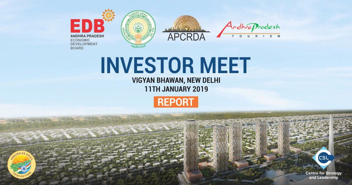 Special Investor Meet with key Andhra Pradesh Government departments organised by CSL