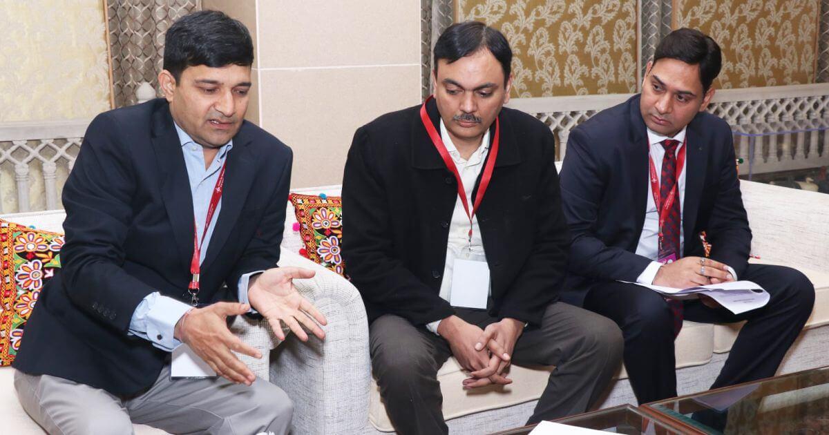 Mr. Abhinav Nautiyal, (VP) and Team, SIR Biotech India Limited with Mr. Vikas Sharma, Director & Chief executive, CSL.