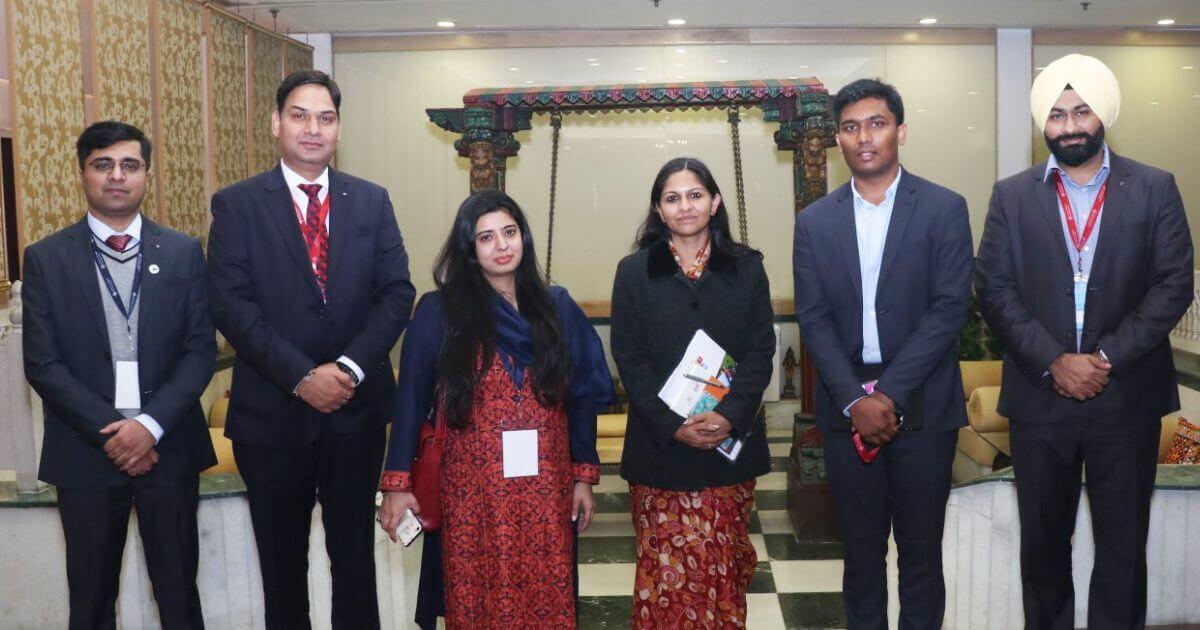 L-R: Mr. Sumanto Mukherjee, Executive Director (CSL), Mr. Vikas Sharma, Director & Chief Executive (CSL), Ms. Masha Mukherjee, Executive Director (CSL), Ms. Bhavna Saxena, IPS, Special Commissioner, (EDB) Govt. of AP, Mr. S Shaanmohan, Additional Commissioner, IAS, APCRDA, and Mr. Taranjeet Sambi, Additional Director (EDB)