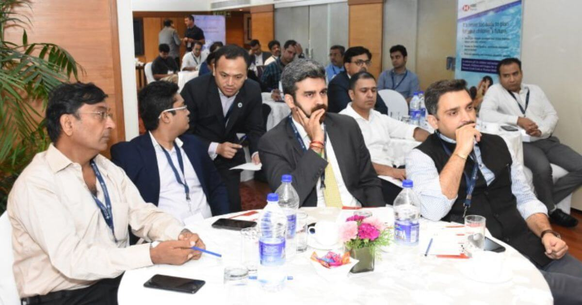 The participants comprised a select group of top business owners and highly skilled professionals.