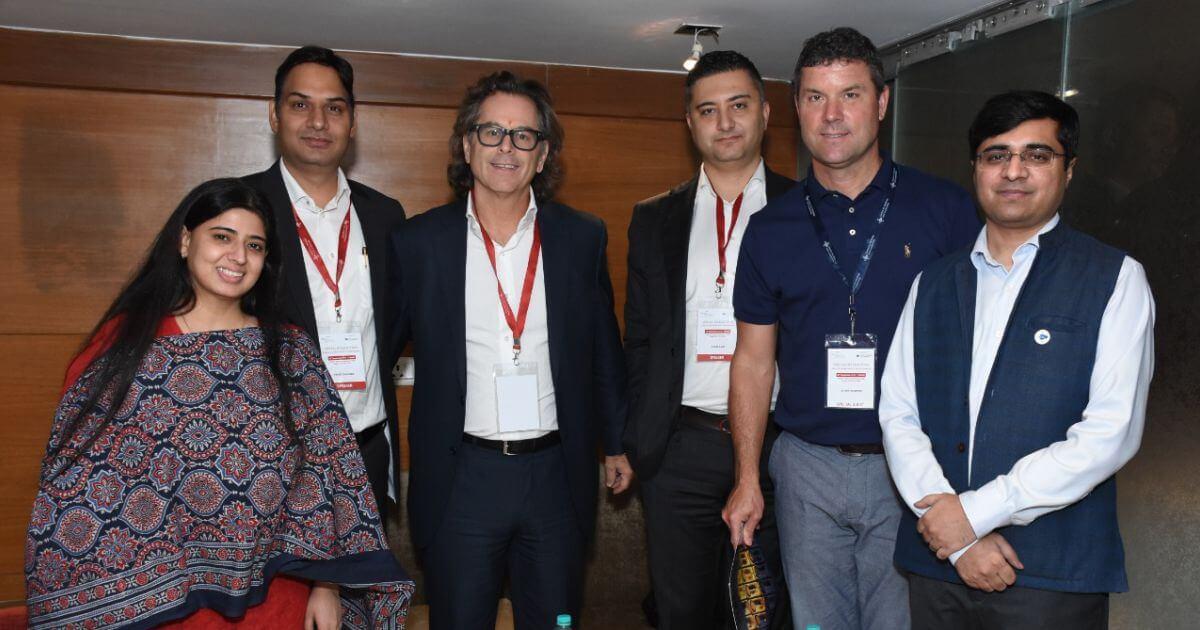 L-R: Masha Mukherjee, Executive Director (CSL), Vikas Sharma Chief Executive (CSL), Mr. Stephen Green, Managing Partner, G&S, Mr. Eren Sari, BDM (G&S), Mr. Chris Somers, President (Canadian International Inc), Sumanto Mukherjee, Executive Director (CSL).