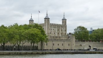 The Tower of London - Thames side