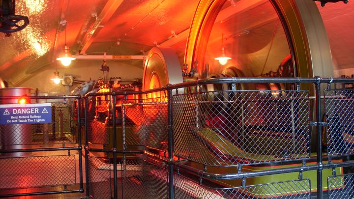 Tower Bridge - Engine Room Colours