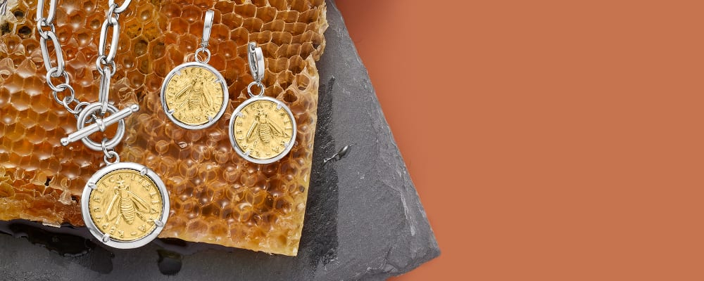 Inspired By Nature. The Most Buzz-Worthy Finds Around. Image featuring 929447, 929448