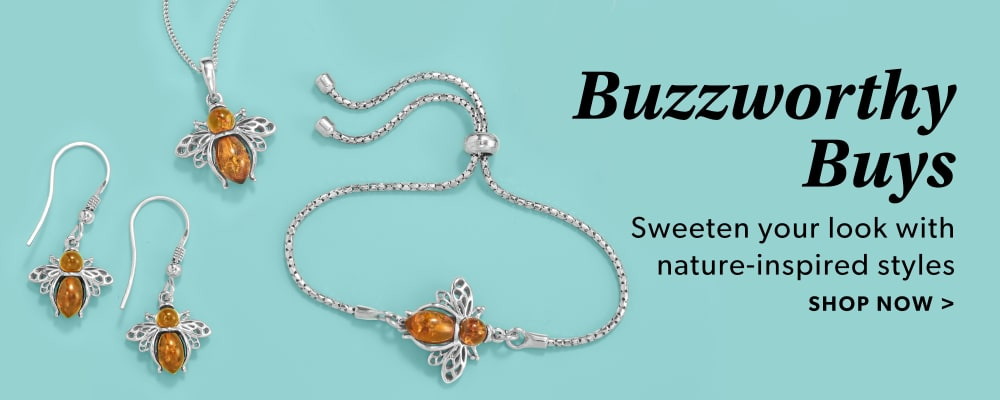 Buzzworthy Buys. Sweeten Your Look With Nature-Inspired Styles. Shop Now