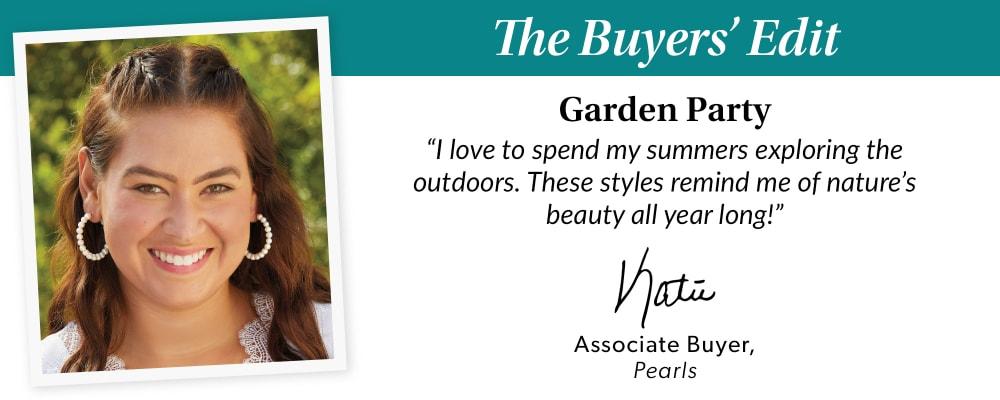 The Buyer's Edit. Garden Party