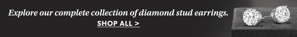 Shop All Diamond Stud Earrings