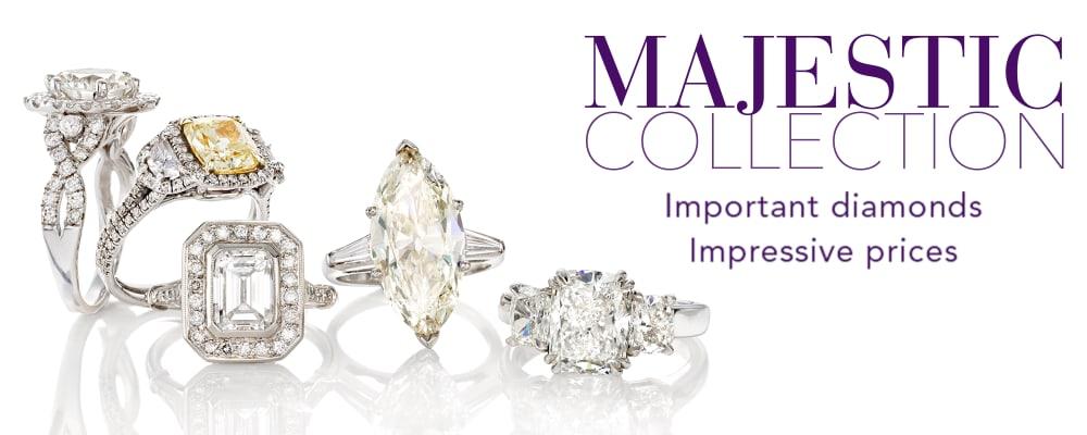 The Majestic Collection. Important Diamonds Impressive Prices