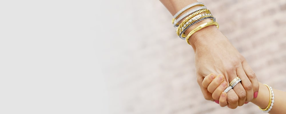 bangles stack on must-have styles. Image Featuring