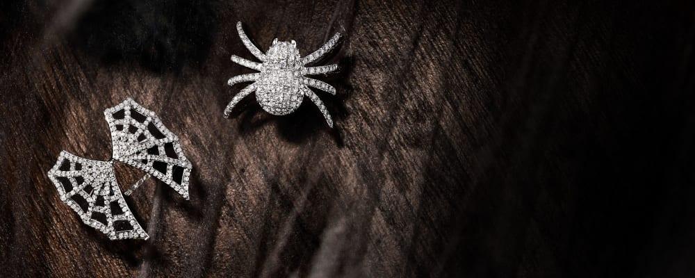 Boo-Tiful Picks. This Season Dress To Thrill In Elegant Spooky Jewels