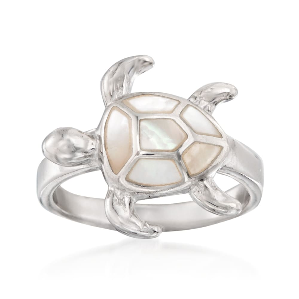 Summer Fashion Ring Turtle Ring Sterling Silver Turtle Ring Silver Sea Turtle Jewelry Gift For Her Sea Life Ring