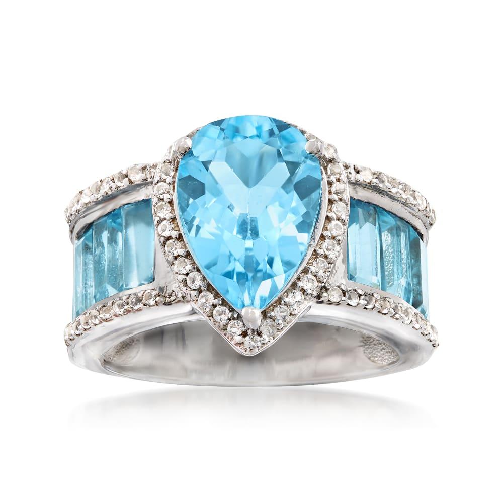 topaz ring round bezel natural white topaz ring topaz wedding band white topaz ring Tunnel of light topaz ring sterling silver ring