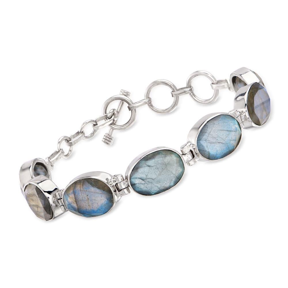 Earrings /& Bracelet Set Jewelry Set Labradorite Jewelry Labradorite Bracelet Gemstone Jewelry Labradorite Earrings Gray Bracelet