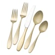 """Mikasa """"Hamilton"""" 20-pc. Service for 4 18/10 Gold-Plated Stainless Steel Flatware Set"""