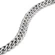 Sterling Silver Woven-Link Bracelet