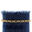 Italian 14kt Yellow Gold Cable-Link Bracelet