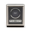 """Wolf """"Exotic"""" Black Leather Single Watch Winder"""