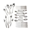 """Gorham """"Melon Bud Frosted"""" 45-pc. 18/10 Stainless Steel Flatware Set"""