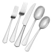 """Mikasa """"Swirl"""" 20-pc. Service for 4 18/10 Stainless Steel Flatware Set"""