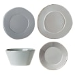 "Vietri ""Lastra"" Gray Dinnerware from Italy"