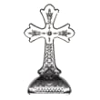 """Waterford Crystal """"Gift Bar"""" Lismore Standing Cross"""