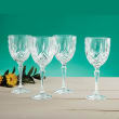 """Marquis by Waterford Crystal """"Markham"""" Set of 4 Goblet Glasses from Italy"""
