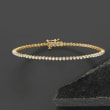 1.00 ct. t.w. Diamond Tennis Bracelet in 14kt Yellow Gold