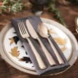 """Lenox """"Colebrook"""" Champagne 5-pc. 18/10 Stainless Steel Place Setting"""