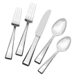 "Mikasa ""Kirkland"" 65-pc. Service for 12 18/10 Stainless Steel Flatware Set"