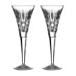 "Waterford Crystal ""Gift Bar"" Set of Two Lismore Flute Glasses"