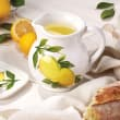 "Abbiamo Tutto ""Lemons"" Ceramic Pitcher from Italy"