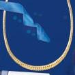 Italian 18kt Yellow Gold Graduated Cuban-Link Necklace