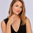 .57 Carat Diamond Engagement Ring in 14kt White Gold