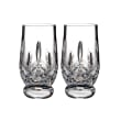 "Waterford Crystal ""Connoisseur"" Set of 2 Lismore Footed Tasting Tumbler Glasses"
