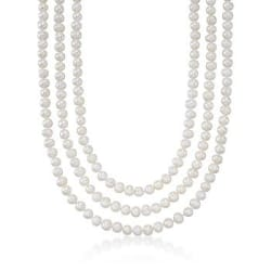 7-8mm Cultured Pearl Endless Necklace