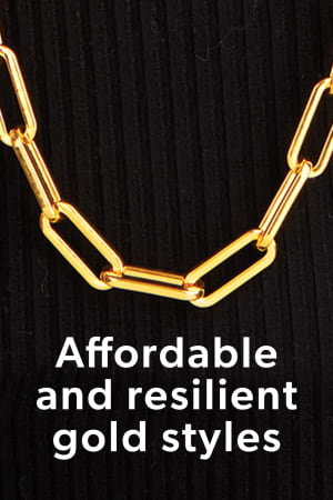 Affordable and Resilient Gold Styles