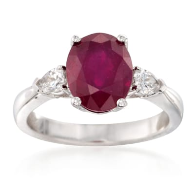 July Ruby. Image Featuring Ruby Ring