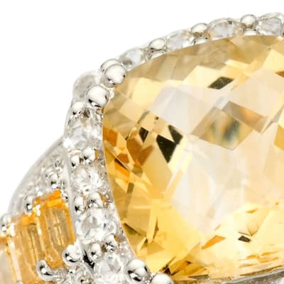 November - Citrine. Image Featuring Citrine