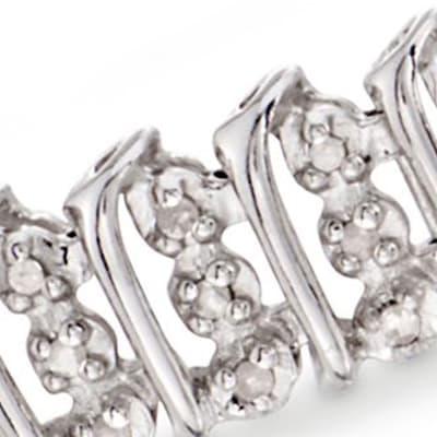 Diamond Jewelry. Image Featuring White Gold And Diamond Bracelet