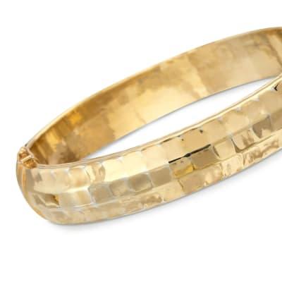 Gold Bangles. Image Featuring Gold Bangle Bracelet