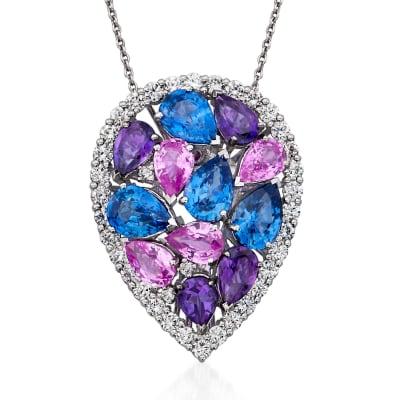 Gemstone Pendants. Image Featuring a Gemstone Pendant