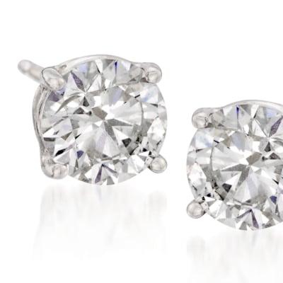 Diamond Studs. Image Featuring Diamond Stud Earrings