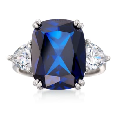 September Sapphire. Image Featuring Sapphire Ring