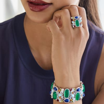 Stand out in this bright gem. Shop Turquoise