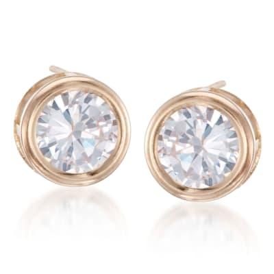 CZ Earrings, Image Featuring CZ Earrings